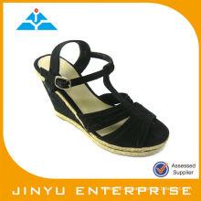 Zapato de cuero de la marca de fábrica de la manera