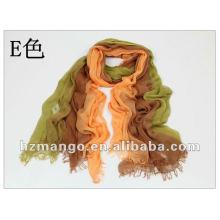 Primavera 2016 color de dos tonos bufanda modal