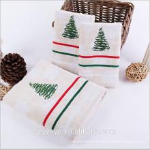 toalla de mano de árbol de Chrismas especial Ht-054