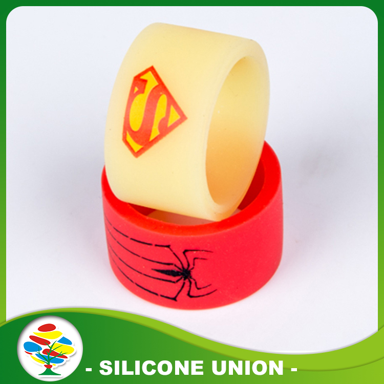 High Quality Print Silicone Ring