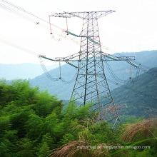 220 Kv Winkel Stahl Power Transmission Tower