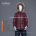 newest children's breathable down coat with detachable hood