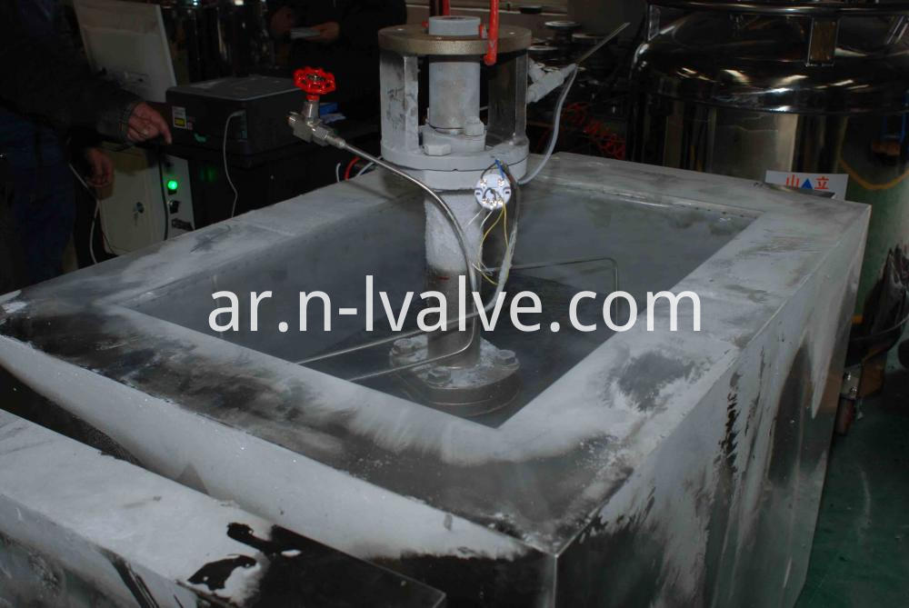 Cryogenic Test For Ball Valve