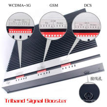 Mehrere Netzwerke Mobile Signal Booster Triband GSM 900 1800MHz 3G 2100MHz 2g 3G 4G Signal Booster