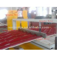 PVC roof sheet making machine