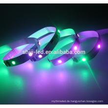 Digital 12Vdc 12mm breite digitale LED-flexible Streifen flexible wasserdichte LED-Streifen 5050 adressierbare RGB LED-Streifen