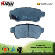 Japanese car brake pad for HONDA Odyssey 2005-2010
