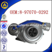 RHB5 8-97070-0292 VD180051-VIAH turbocharger for Isuzu 4JG2-T