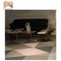 placas de suelo tejidas pvc inalámbricas auto-adhesivas de la danza para el hogar