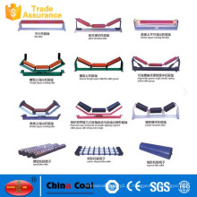 China Fabricante retorno rolos de rolos tensores para transportador de correia