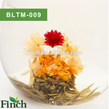 Chá Art Handmade Natural Flor Flavored Blooming Tea Ball