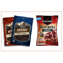Aangepaste 3 Side Seal Pouch Beef Jerky Bag