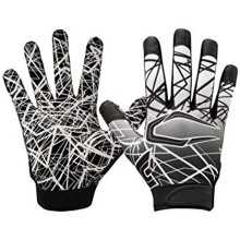 Europe style for Shock Gloves Speed grip silicone palm football game glove export to South Korea Supplier