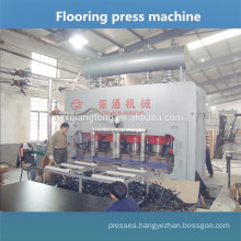 Floor laminate machine / Hot press for making laminated flooring