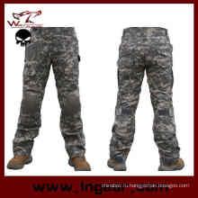 Тактические бои Брюки военные Assualt брюки с наколенники
