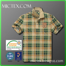 cotton polyester dry fit polo shirt for men OEM (OEKO-TEX,ISO9001)