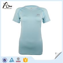 Женщина Оптовая Dri Подходят T-Рубашка Бег Одежда