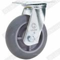 Heavy Duty TPR Lenkrolle (Grau) (G4307D)