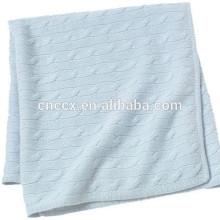 O bebê 15BLT1010 caçoa o cobertor da caxemira