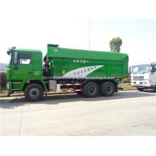 Caminhão basculante articulado 6 * 4 com tampa de proteção ambiental