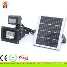 Flutlicht des hohen Lumen-Solar-Sensor-LED 10W