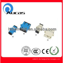 SC Optischer Faseradapter