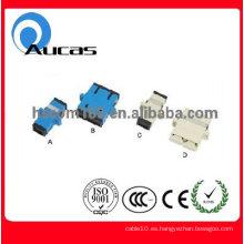 Adaptador de fibra óptica SC