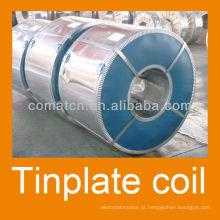 Folha de Flandres para embalagens metálicas