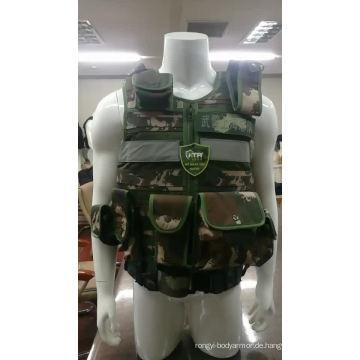 Leichte kugelsichere Körperrüstung Modische kugelsichere Weste Preise Taktische Jacke
