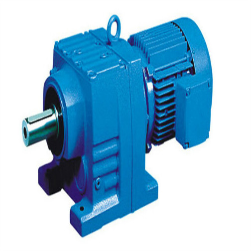 Input Shaft Helical Coaxial Motor Reducer / Speed ​​Gearbox