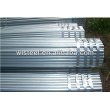 ASTM A53 BS1387 hot dipped galvanized steel tube factory in Tianjin china
