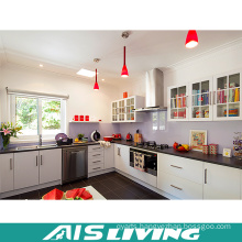Modern Elegant L-Shaped Kitchen Cabinet Furniture (AIS-K590)