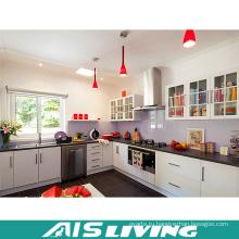 Современный элегантный L-образная кухня корпусной мебели (АИС-K590)