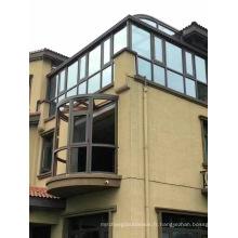 Verre double stratifié clair de bâtiment trempé pour la véranda