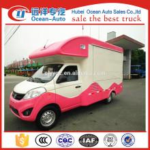 Hot sales Euro 5 Foton camión de alimentos móviles para la venta
