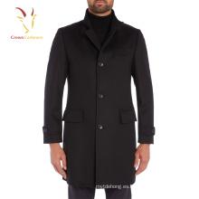 Chaqueta de abrigo de cachemira de estilo europeo para hombres