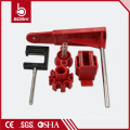 Hand wheel gate valve lockout BD-F31 ,lock with quarter-turn ball valve for single arm ,with OSHA-compliant standards