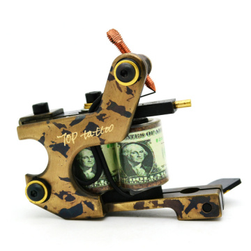 Newest Design Handmade CNC Brass Tattoo Machine Equipment