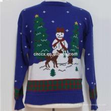 16PKCS03 2017 Erwachsene führten leichten Pullover für Weihnachten