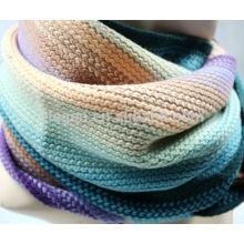 Bufanda de lana de invierno acrílico de alta calidad rayado