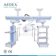 Emergency mounted rail system hang bridge ICU ceiling medical pendant