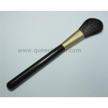 Free Sample madeira Handle escova sintética do pó do cabelo
