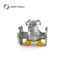 JKTLPC082 low pressure carbon steel flanged mechanical check valve