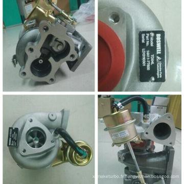 Td04L Turbocompresseur 49377-02600 14411-7t600 pour Nissan Td27 Engine