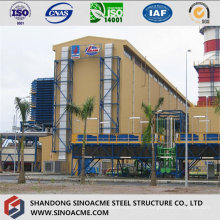 Estructura de estructura de acero para planta de gran altura