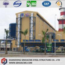 Estrutura de estrutura de aço para planta de alta altitude