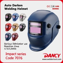 Custom Tig variable light welding helmet/argon arc welding mask code.7076