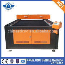 JK - 1325L máquina de corte Laser de Co2 com tubo de laser 100W