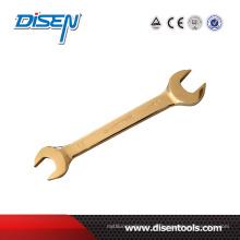 Handwerkzeuge vergoldeter doppelter offener Schraubenschlüssel