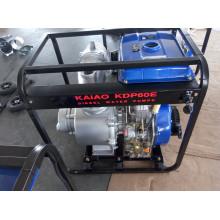 Pompe à eau diesel de démarrage à clé simple de 6 pouces à usage unique pour l'irrigation agricole